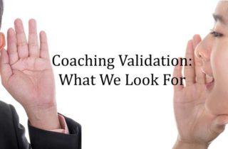 coaching validation